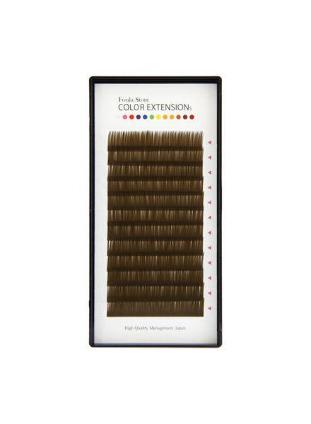 Color Volume Up Lash 12 Lines Khaki Brown
