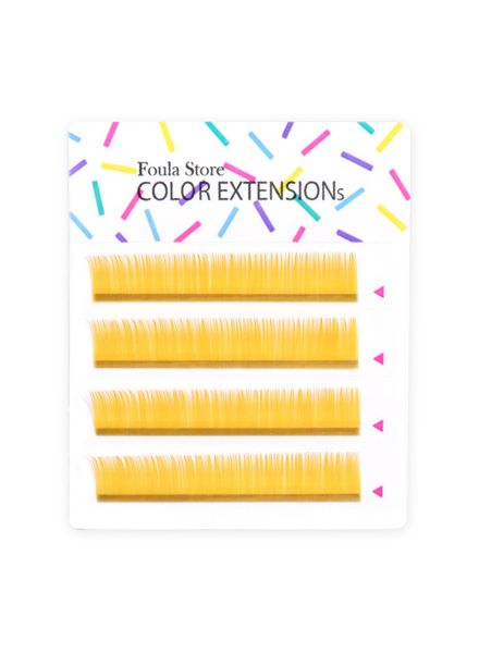 Color Lashes 4 Lines Light Gold