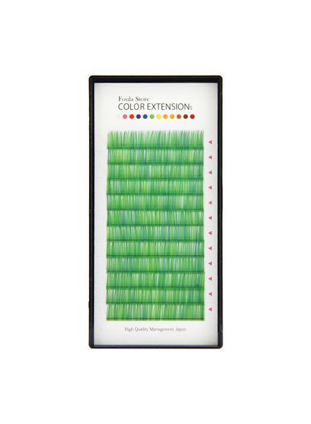 Color Volume Up Lash 12 Lines Random MIX Green
